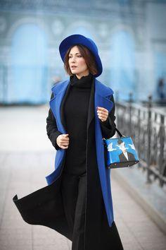 street style, winter street styles, winter outfits, blue waistcoat,