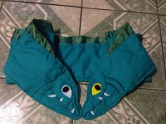 Flotsam and Jetsam eel shawl wrap snarf from Disney's The Little Mermaid Ursula Villain perfect for Halloween!!