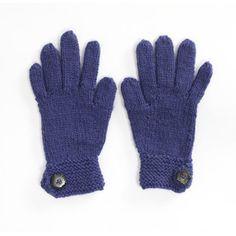 Fledgling Gloves in Lion Brand Wool-Ease - 90370AD | Knitting Patterns | LoveKnitting