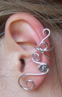 Swarovski Ear Cuff by LiquidSilver1 on DeviantArt