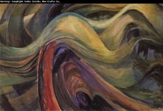 Emily Carr, Abstract Tree Forms