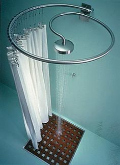 Good idea, except I'd try and secure it from above. In case you pull the curtain a little too hard.