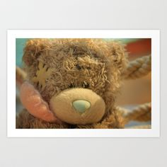 Me to You Bear Art Print by Ania Archer Photography - $20.00