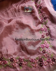 - Source by - Diy Embroidery Patterns, Border Embroidery Designs, Kurti Embroidery Design, Embroidery Fashion, Embroidery Dress, Indian Embroidery, Brazilian Embroidery, Machine Embroidery, Salwar Suit Neck Designs
