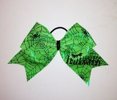 Limited Edition 3 Inch Halloween Bow by Justcheerbows on Etsy, $10.00