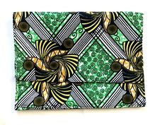 Medium African Print Clutch Bag by dstonedesigns on Etsy