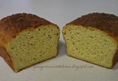 Ginny's Low Carb Kitchen: FLAX CHEESY BREAD WITH PROTEIN