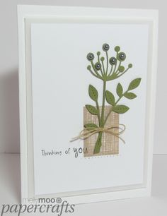 A blog where I show my handmade clean and simple cards and papercraft designs.