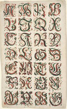 Letterology: The Fractur, Part 2