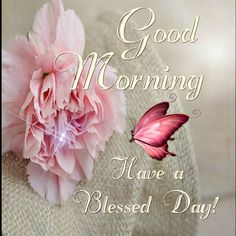 Good Morning, Have a Blessed Day!!