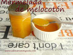 Cocinar con MyCook: MERMELADA DE MELOCOTÓN