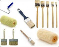 Ручной инструмент для покраски стен(кисти и валики)