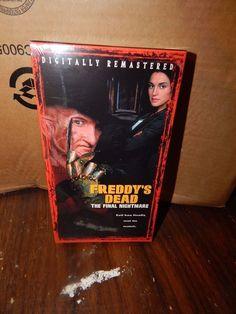 Nightmare on Elm Street Freddy's Dead Final Nightmare VHS Factory Sealed