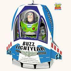 2008 Disney - Buzz In The Box - Toy Story HALLMARK ORNAMENT