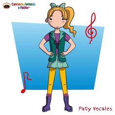 PATY VOCALES, DE CANTANDO APRENDO A HABLAR.
