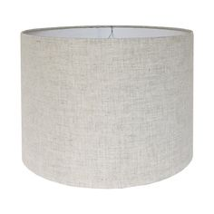Custom lamp shade constructed from scratch and covered with a natural linen fabric. DETAILS: - Fabric: Kaufman Waterford Linen in Natural. - Fitting: Standard washer/spider fitting. See adapter information below if your lamp requires a different fitting. - Size: Your choice! See below for how to order your custom shade.  HOW TO ORDER: - Select the quantity of shades youd like from the drop down menu. - Select a diameter for your shade. Contact me if youd like to purchase a tapered shade ...