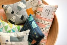 Pin Pals by Carrie Nelson - 40 patchwork pincushions with detailed instructions