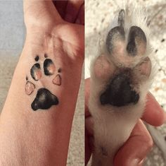 These are the top 20 most heart-warming dog paw tattoos that owners got on the different parts of their body to make their friend unforgettable.