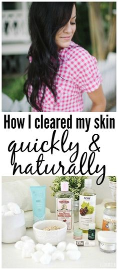 So I will be the first one to admit that I don't have perfect skin.Here is the story that How I healed my skin the natural way!