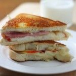 Ham & Apple Grilled Cheese