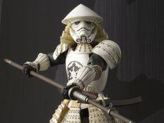 Star Wars Yari Ashigaru Storm Trooper Meisho Movie Realization Action Figure Coming Soon