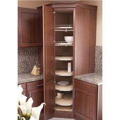 Pantry Corner Cabinet With Tall Corner Cupboard Kitchen - Corner Pantry Cabinet Ikea