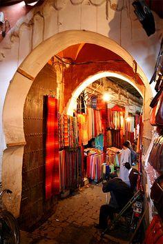 Souk , Marruecos