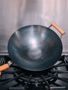 How To Season A Wok And Daily Wok Care Recipe Wok Cooking Tools Chinese Cooking
