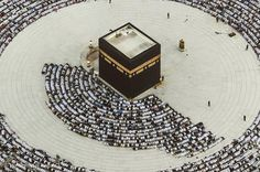 The Kaaba, the most beautiful place in this world.