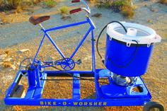 Bike O Worsher - pedal laundry