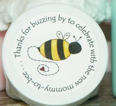 Mommy-to-Bee (Design 1) Whipped Body Butter Baby Shower Favors