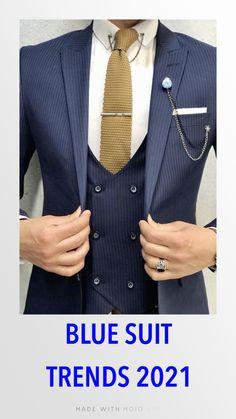 Mens Fashion Suits, Mens Suits, Custom Tailored Suits, Custom Suits, Costume Africain, Dress Suits For Men, Blue Suit Men, Designer Suits For Men, Bespoke Tailoring
