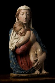 Luca della Robbia (Firenze, 1400-1481) Madonna col Bambino (1430 ca.) Firenze, Chiesa di Santa Felicita