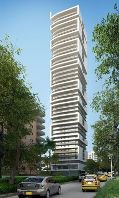 Architectural Rendering | Architectural rendering of residential tower in Barranquilla, Colombia