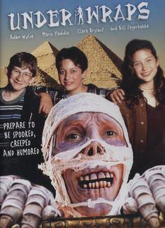 Under Wraps is a joint Disney Channel and Hallmark Entertainment Halloween movie. #mummy #hallmark #disney