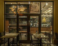 Starbucks opens 5,000 square-foot café along the new Universal Boulevard.