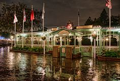 All Aboard the Rivers of America  One of my favorite things to do at Disneyland is board the Mark Twain or the Sailing Ship Columbia. Disneyland already offers an escape from the ordinary, but sailing on the Rivers of America takes you even further...    Read more here at Tours Departing Daily