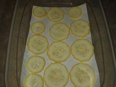 How to freeze yellow squash!