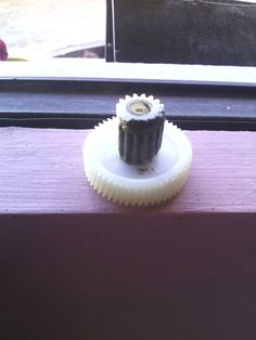 Cured epoxy gear