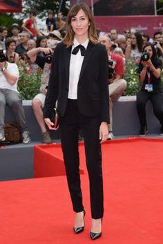 Gia Coppola wore Saint Laurent to the Venice International Film Festival