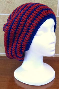 A personal favorite from my Etsy shop https://www.etsy.com/listing/234354463/slouchy-hat-slouchy-beanie-beret-tam
