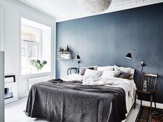 mens bedroom ideas elegant mens bedroom ideas luxury blue bedroom wall elegant blue bedroom of mens Grey Bedroom Design, Blue Bedroom Walls, Blue Bedroom Decor, Grey Home Decor, Gold Bedroom, Blue Rooms, Blue Walls, Bedroom Designs, Bedroom Images
