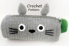 Totoro Pencil Case Crochet Pattern (PDF)