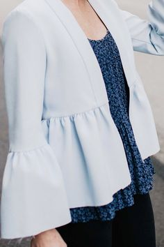 How To Style A Blue