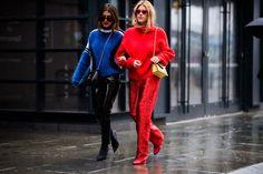 Уличный стиль в Нью-Йорке Неделя моды - Нью-Йоркская неделя моды Street Style Осень 2018