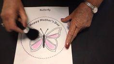EzyShaid(R) Colour's Butterfly Plate Topper