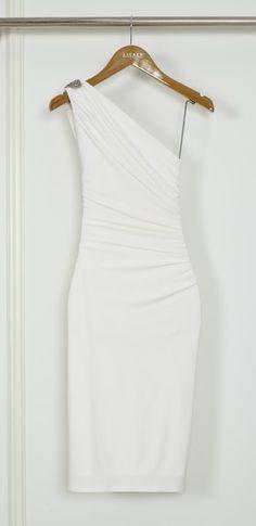 .white dress- rehearsal dinner option.