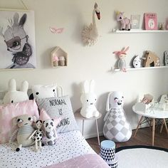 """Normal is boring"" Cute kids room inspo!"