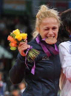 Rosalba Forciniti conquista il bronzo nel judo. Un'altra azzurra sul podio!