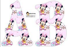 Letras abecedario de Minnie Baby